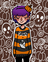 Spoopy Bae by FalseEquilibrium