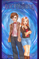 Doctor Who: Wibbly Wobbly Timey Wimey by Merry-Muse