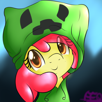 Cute creeper by FreeFraQ