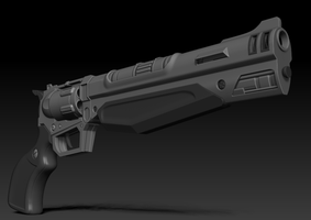 Borderlands 2 weapons: Jakobs revolver by s620ex1
