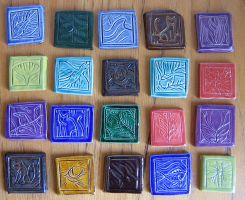 Small Tiles by Verdego