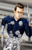T-1000 Terminator - by AJ Moore by GudFit