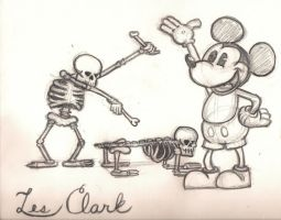 Les Clark Tribute by alohaman636