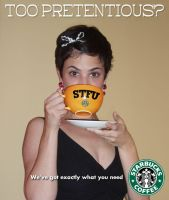 Starbucks Big Cup of STFU by Agent-Spiff