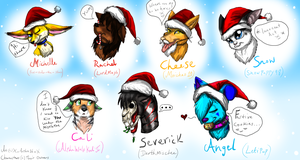 Merry Christmas to my DA Friends .:Part 1:. by ScottishRedWolf