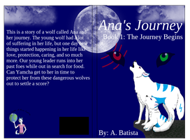Ana's Journey Book Cover by liongirl2289
