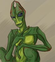Salarian by I-Zet