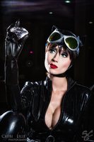 Catwoman cosplay by adami-langley