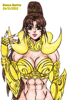 Aries no Monyque Lineart colored by bianca-b9k4