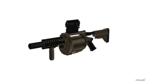 40mm Grenade Launcher by sadow1213