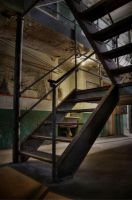 WV Penitentiary Stairs by o0xerog0o