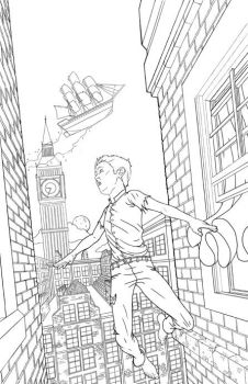 Peterpan cover drawing by z0mbiePirat3