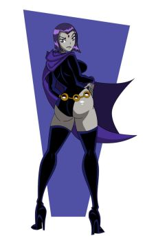 Raven Colored by grimphantom