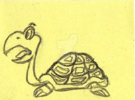 Turtle from the clouds by Alphir