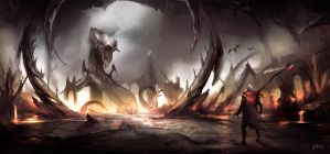 dantes inferno by YoBarte