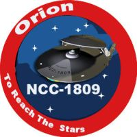Orion mission patch by JayPrower