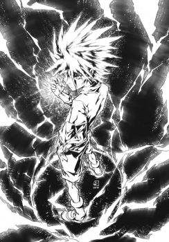 KILLUA from HxH by marvelmania