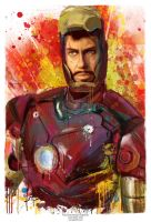 TonyStark - I am Iron Man by j2Artist