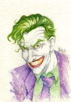 Joker Watercolor by BrunoBull