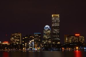 Night Time Boston by bostonlife