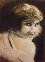 Edna Purviance by astrogoth13