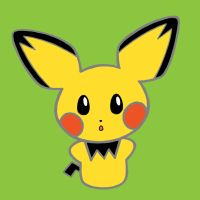 pichu... in glorious color. by manga-kat
