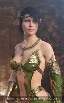 Vicky Elf | 3D Fantasy Art by Lehira-Rutherford
