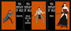 Ecstasy of Gold: solo posters by Squirrel-slayer
