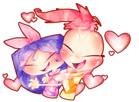 .:Phinabella Cuddles:. Collab by PhinabellaPhan