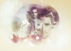 Oliver Queen (Stephen Amell) by TheMeltingSun