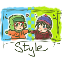 Style Twin Icons by Shel-chan