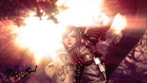 Blade and Soul wallpaper - Female Gon by kampinis by kampinis