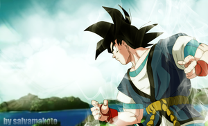 tributo a goku absalon by salvamakoto