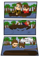 July 4th Day Camp Canoe by Shanks-kun