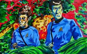 Spock Mccoy from The Apple by MWaters