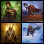 Lord of the rings ccg by dleoblack