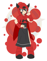Team Magma Courtney - Original by Dragon-FangX