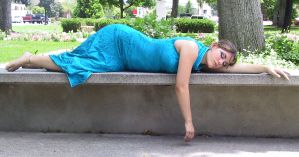 Asian Dress Bob 46 by Falln-Stock