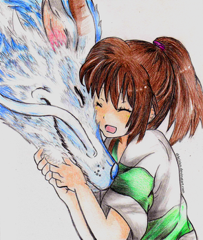 Spirited Away by DrkCirius
