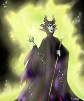 Entry 3 - Maleficent by NarakuNoKeki93