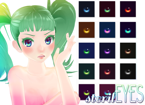 [MMD] sterilEYES +DL by HiLoMMD