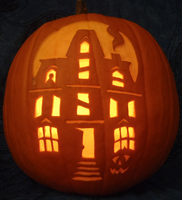 The 8th Pumpkin House by johwee