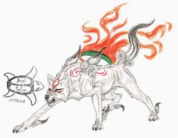 Okami - Ready to fight by Aspi-Galou