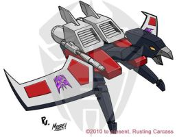 Laserbeak by PiusInk