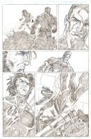Ultimate X-Men page 2 by artistjoshmills