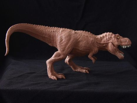 T.Rex - model prototype sculpture by revenant-99