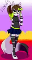 (RQ) Melody The Wolf by Gaby-Kagamine-cat
