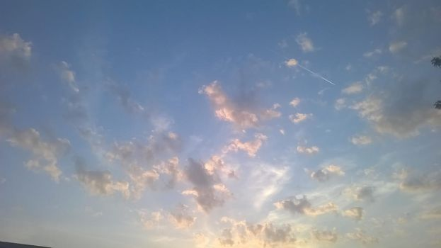 Fluffy Clouds by Spiniosa