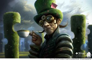 Alice in Wonderland-Madhatter by michaelkutsche