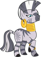 Ms Zecora's not amused, for her ego is now bruised by Triox404
